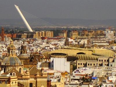 Sevilla von der Giralda bei der Kathedrale