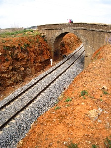 Bahnverbindung Zafra - Arazena