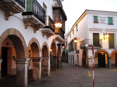 La Plaza Grande de Zafra