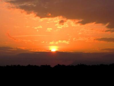 Villafranca: Aufbruch bei Sonnenaufgang
