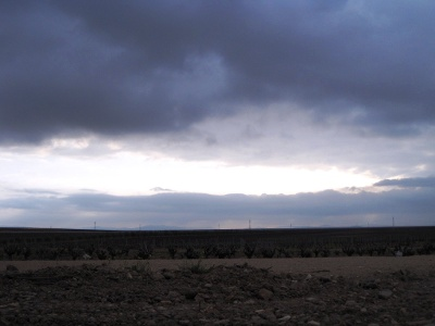 Wolken und Sonne wechseln sich ab