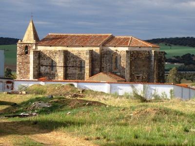 mittelalt. Kirche von Aljucén