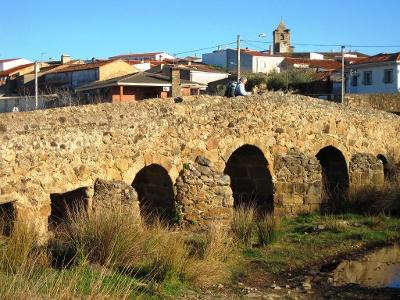 Casas d.D.A.: mittelalterliche Brücke