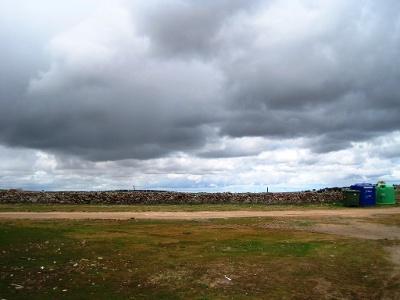 wolkenverhangener Pilgertag