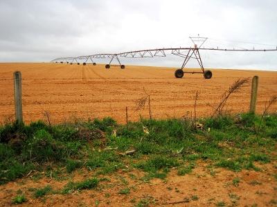 moderne Bewässerungsanlage