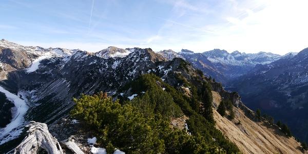 Bergtour: Überschreitung des Schattenberg bei Oberstdorf