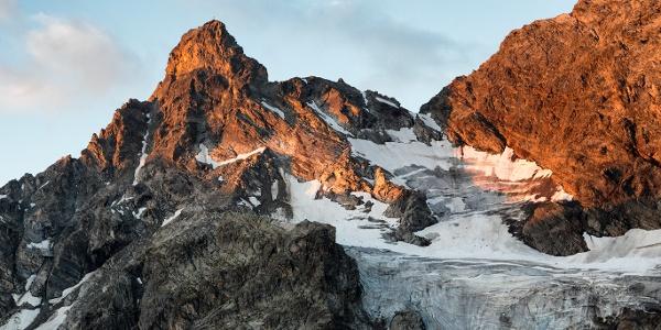 Der große Litzner mit dem gleichnahmigen Gletscher