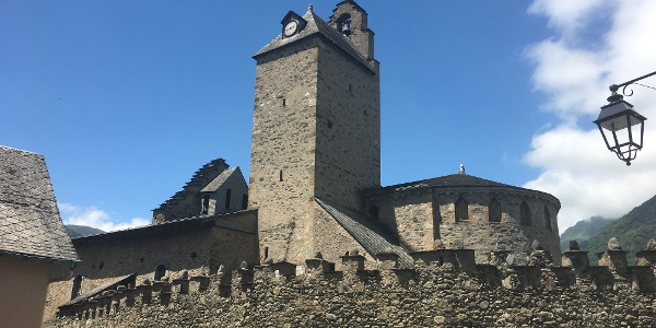 St Sauveur fortified church