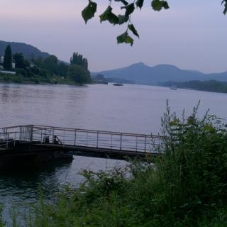 Rheinhöhenzug in Unkel
