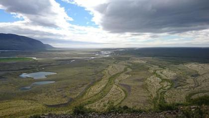 Sand, so weit das Auge reicht: Skeiðarársandur