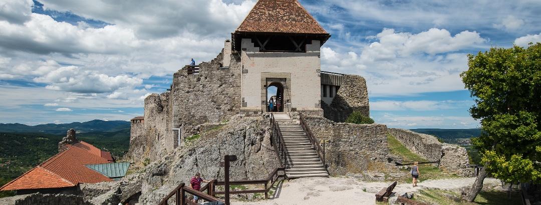 Die Burg von Visegrád