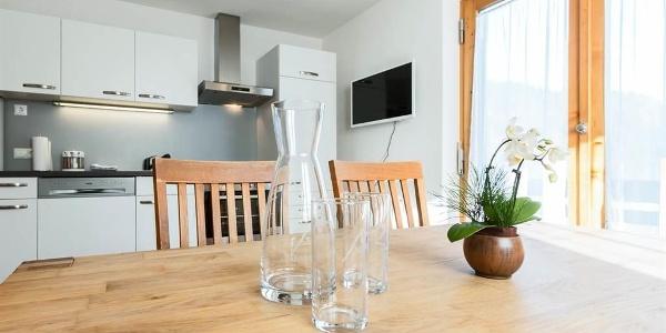 Ferienwohnung Top 1 - Wohnküche