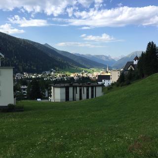 Davos alla partenza 1540m
