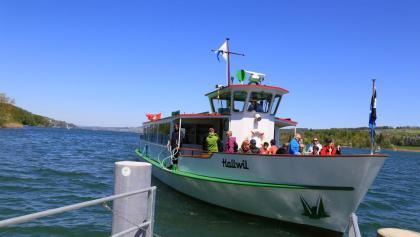 Beliebt: Eine Schifffahrt auf dem Hallwilersee.