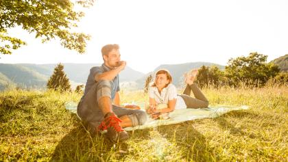 Picknick auf dem Haarberg