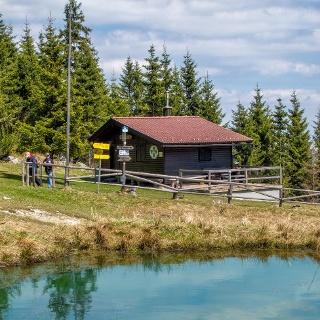 Joe Doppelreiter Hütte zwischen Erzkogel und Alpkogel