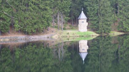 Talsperre Neunzehnhain mit Rapunzelturm