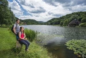 Am Waldsee Rieden (Foto: Klaus-Peter Kappest, Quelle: Rhein-Mosel-Eifel-Touristik)