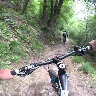 Bike Downhill Alp Cardada Val Resa TI