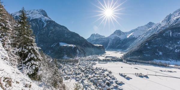 Winterwandern in Längenfeld