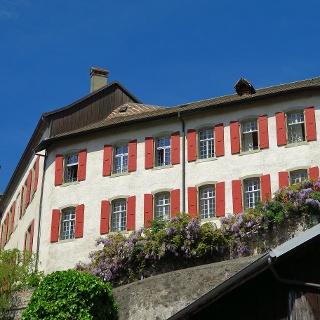 Das Schloss von Aubonne.