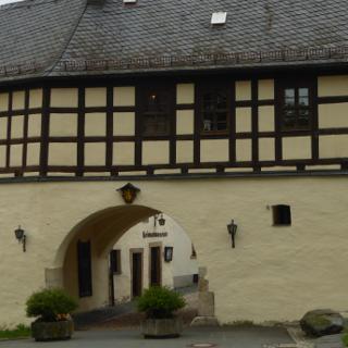 Stadttor Adorf mit Perlemuttermuseum