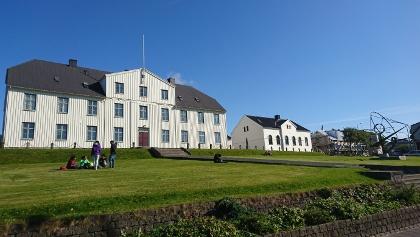 """Die """"Menntaskólinn í Reykjavík"""" ist Islands ältestes Gymnasium."""