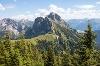 Blick auf den Aggenstein von der Ostlerhütte - @ Autor: Julian Knacker - © Quelle: Pfronten Tourismus