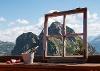 Den Ausblick von der Terrasse der Ostlerhütte genießen - @ Autor: Julian Knacker - © Quelle: Pfronten Tourismus