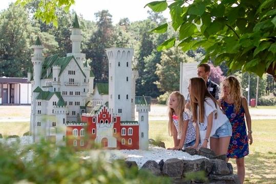 Miniaturbauten in der Gulliver Welt 2.0 in Bexbach