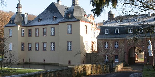 Das Ziel bzw Wendepunkt: Schloss Eicks