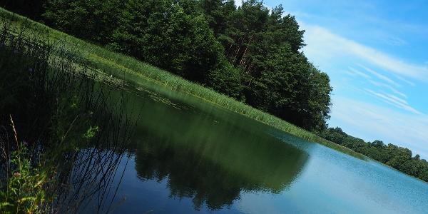 U jezera Szurpily