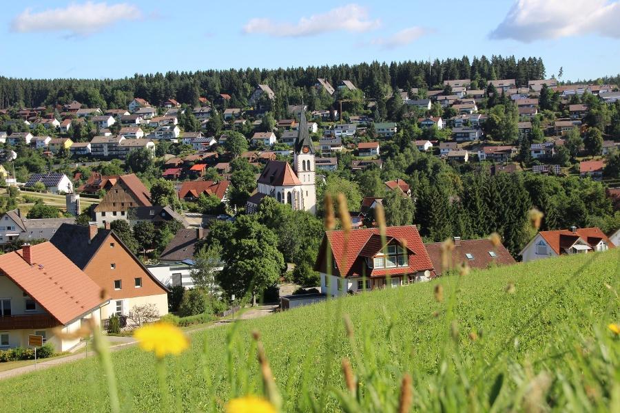 Unterkirnach - Wanderung nach Herzogenweiler