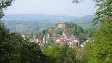 Lindenfels: Nordic Walking Tour - Schenkenberg-Runde