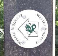 Wessex Ridgeway Sign