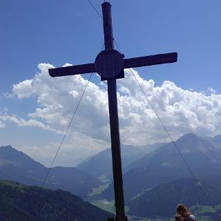 Fluchtwand Gipfelkreuz