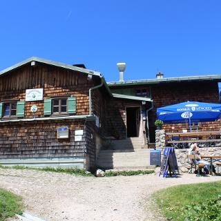Terrasse des Taubensteinhauses