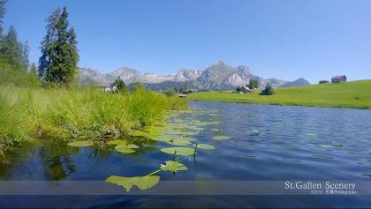 Lake  Schwendisee Toggenburg, St. Gallen SWITZERLAND 山 dji