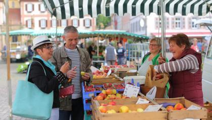 Wochenmarkt in Bad Mergentheim