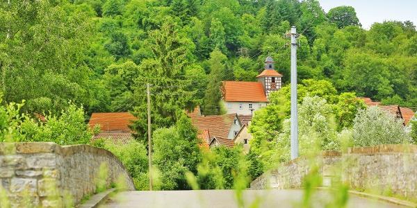 Kocher-Jagst-Radweg bei Olnhausen (Jagsttal)