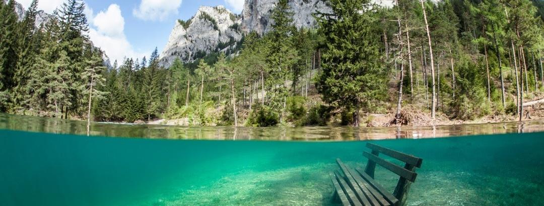 Luftaufnahmen vom Grünen See