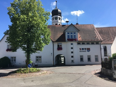 Rathaus und Tourist Info.