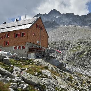 Seit August 2017 präsentiert sich die Barmer Hütte in neuem Gewand.