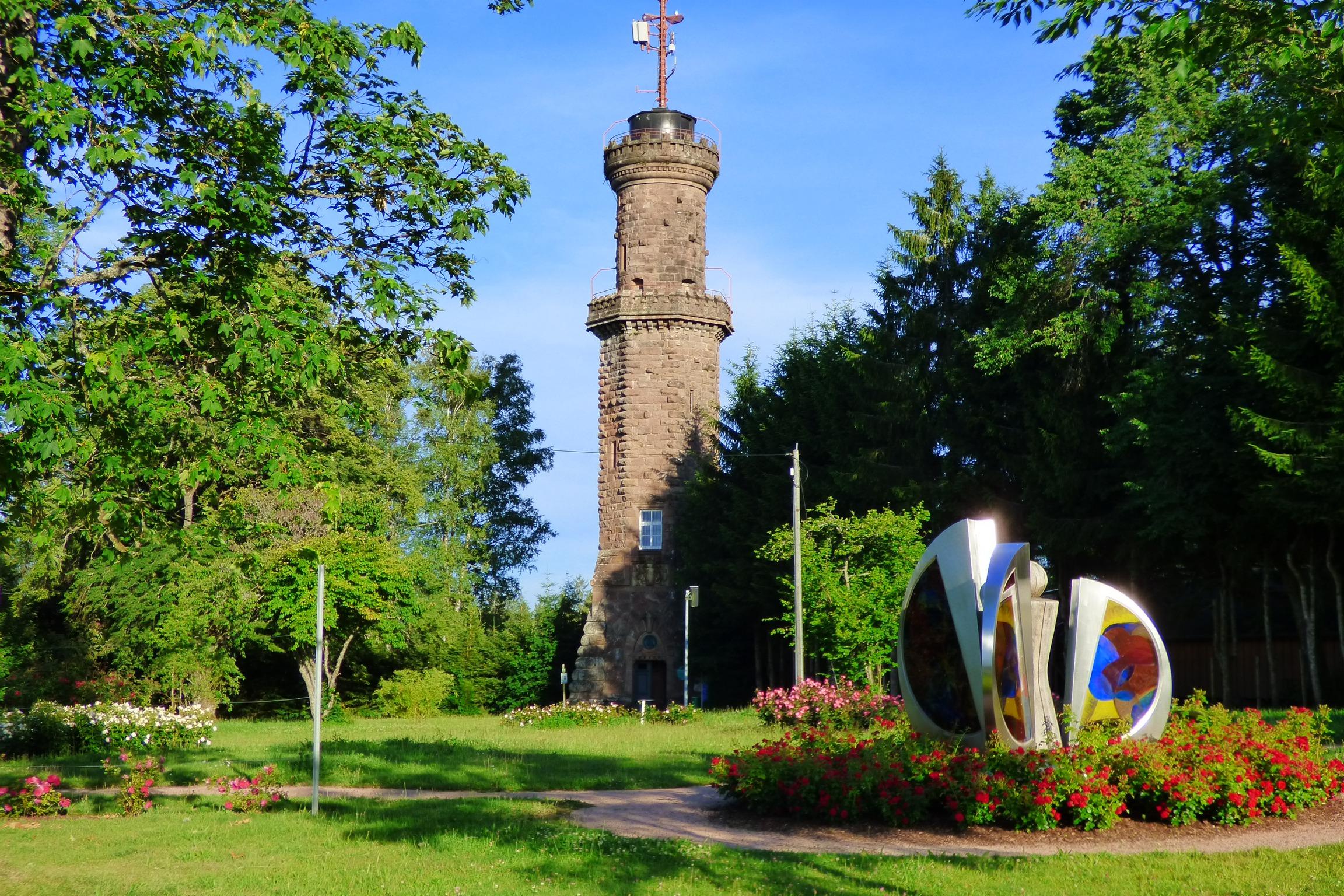 Duftrosenpark am Friedrichsturm