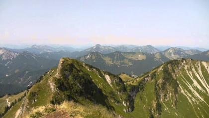 Rotwand - Aussicht am Gipfel