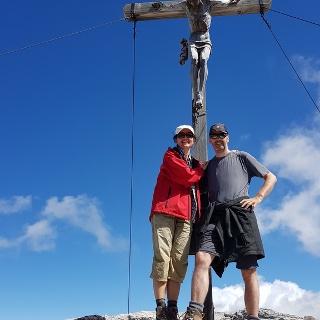 Am Gipfel angekommen