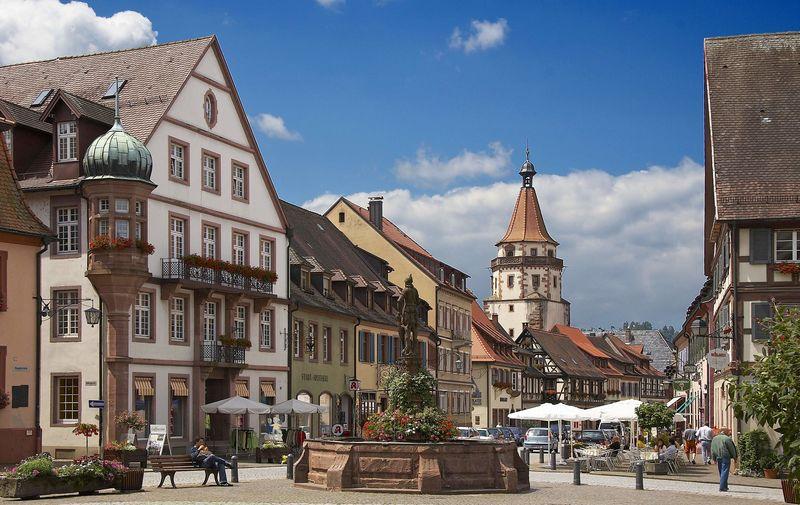 Durbach - Von Durbach nach Gengenbach und zurück