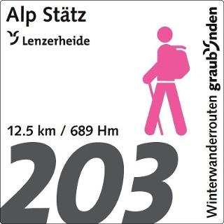 Routennummer 203