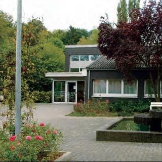 Kurmittelhaus und Kurpark in Germete