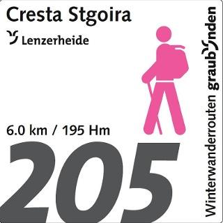 Routennummer 205